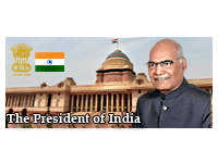 President of India | External link that open in new